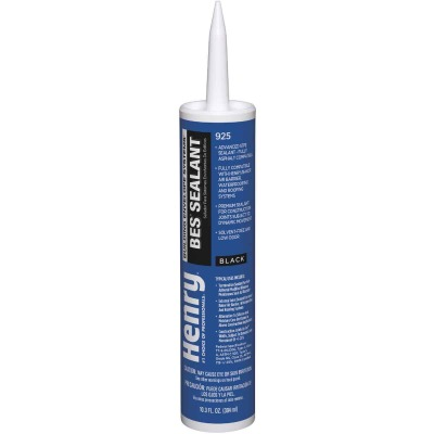 Henry 925BES 10.3 Oz. Black Sealant