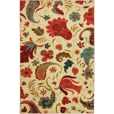 Mohawk Home Tropical Acres 90 In. x 120 In. Area Rug