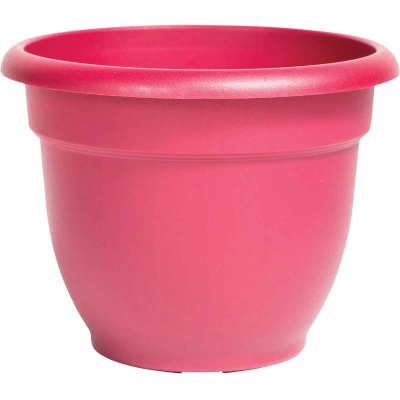 Bloem Ariana 17 In. H. x 20 In. Dia. Plastic Self Watering Union Red Planter