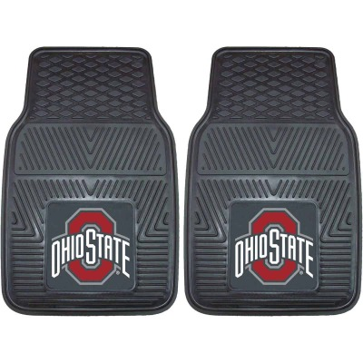 Fanmats 17 In. x 27 In. Vinyl Ohio State University Car Floor Mat