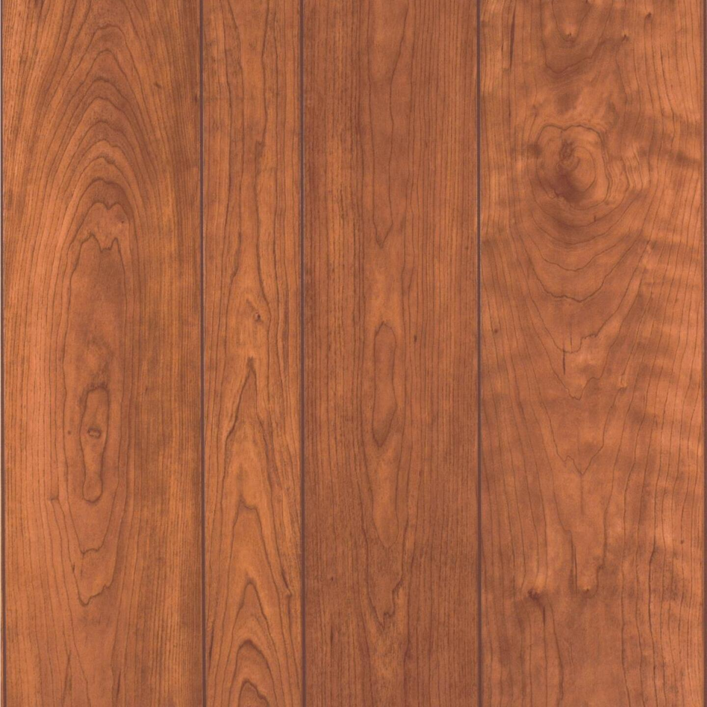 DPI 4 Ft. x 8 Ft. x 1/8 In. Fireside Cherry Woodgrain Wall Paneling Image 1
