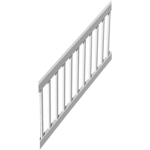RDI Finyl Line 36 In. H. x 6 Ft. L. Vinyl T-Shape Top Stair Railing