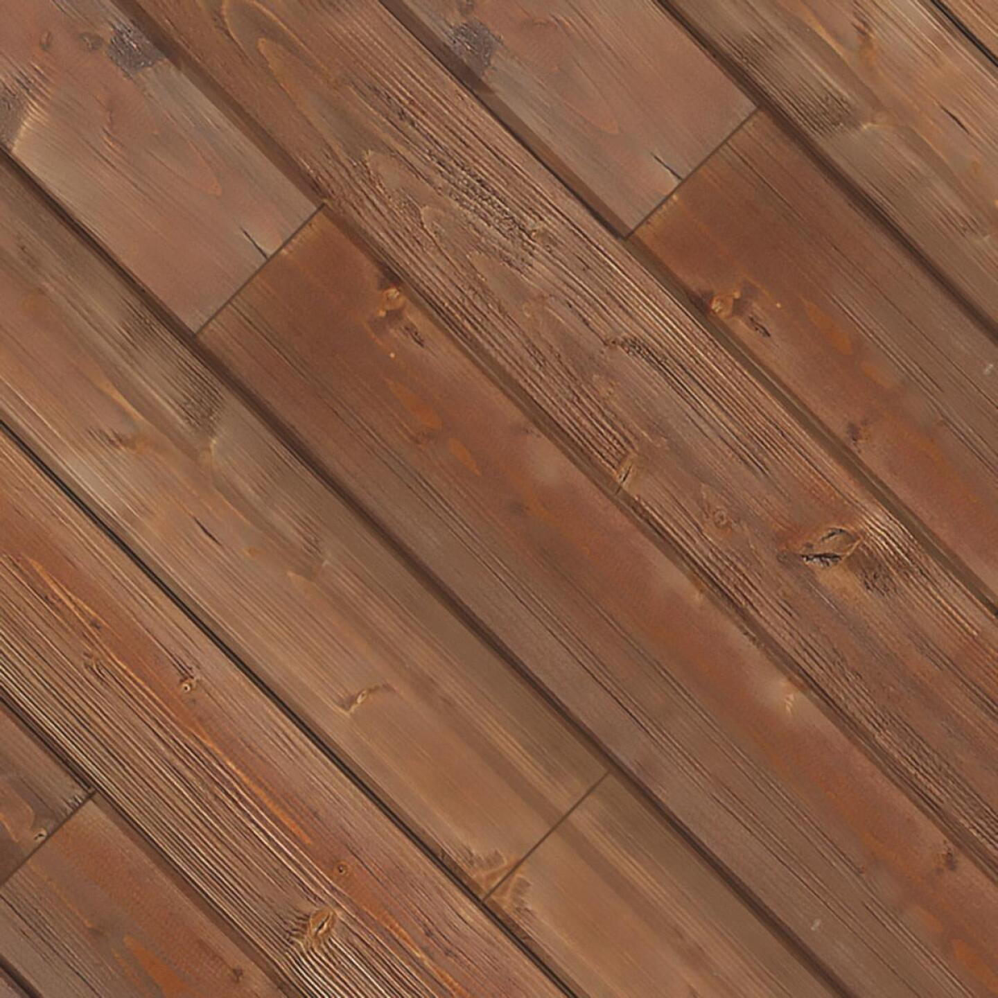 Global Product Sourcing 3-1/2 In. W. x 1/4 In. Thick Solid Wood Brown Reclaimed Wood Wall Plank Image 1
