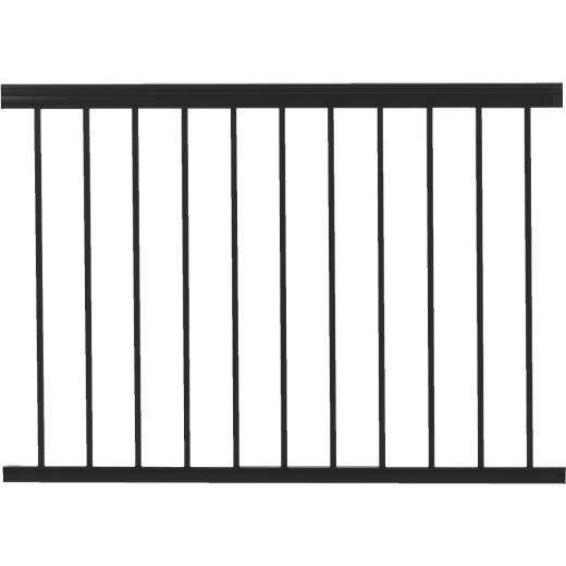 Gilpin Summit 36 In. H. x 4 Ft. L. Black Aluminum Railing
