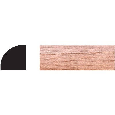 House of Fara 3/4 In. W. x 3/4 In. H. x 96 In. L. Solid Red Oak Quarter Round