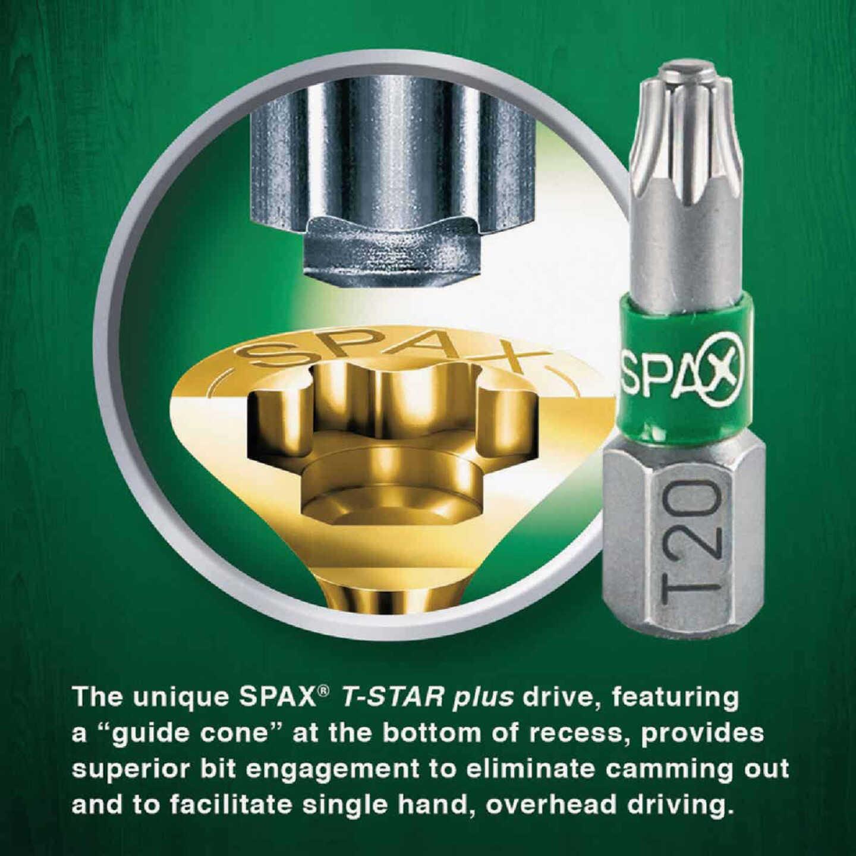 Spax #8 x 1-1/4 In. Flat Head Exterior Multi-Material Construction Screw (1 Lb. Box) Image 4