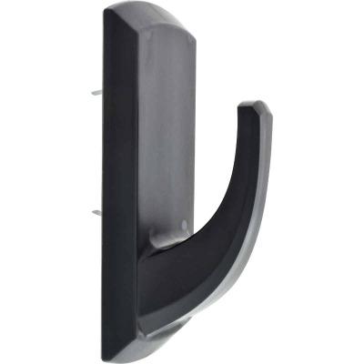 Hillman High and Mighty 20 Lb. Capacity Black Rectangular Decorative Hook