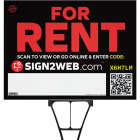 Sign2Web 18 In. x 24 In. Double Sided For Rent Sign Image 1