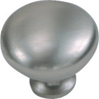 Laurey Satin Pewter 1-1/8 In. Cabinet Knob Image 1
