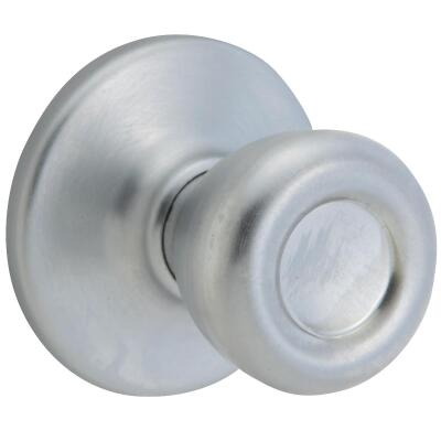Kwikset Tylo Satin Chrome Hall & Closet Door Knob