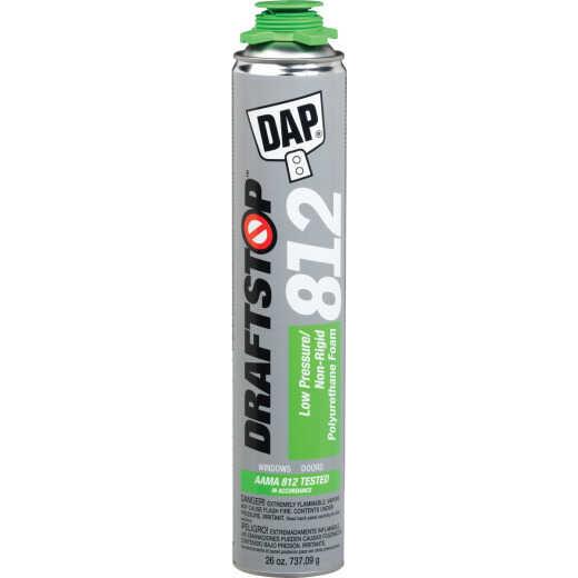 Dap Draftstop 812 26 Oz. Low Pressure/Non-Rigid Polyurethane Foam Sealant