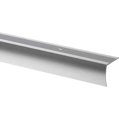 M-D Polished Aluminum 1-1/8 In. W x 36 In. L Aluminum Stairnose