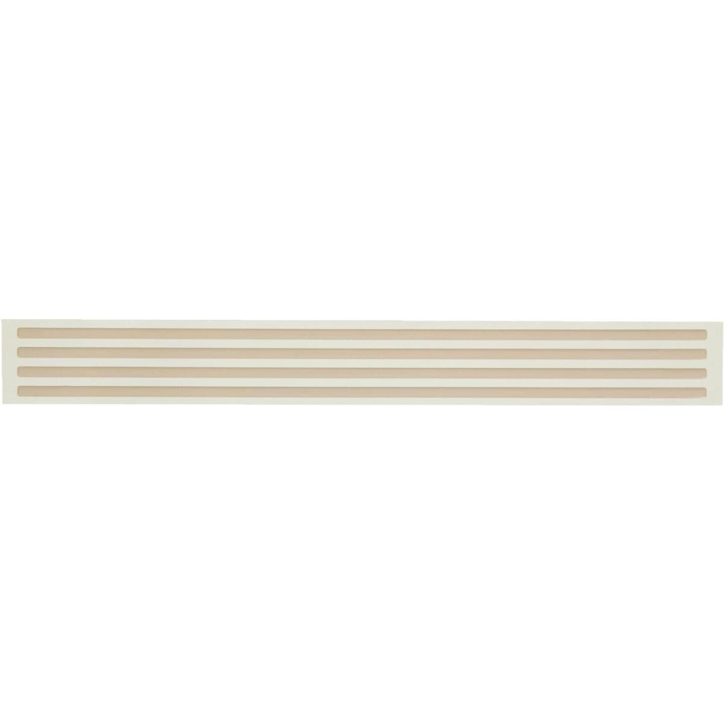 Smart Edge 0.27 In. x 18 In. Peel & Stick Edge Backsplash Trim, Panella (4-Pack) Image 1