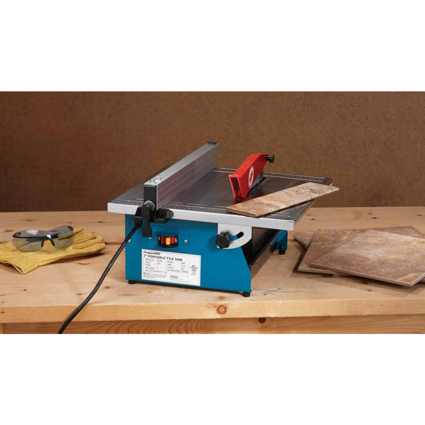 Project Pro 7 In. Portable Tile Saw Image 2