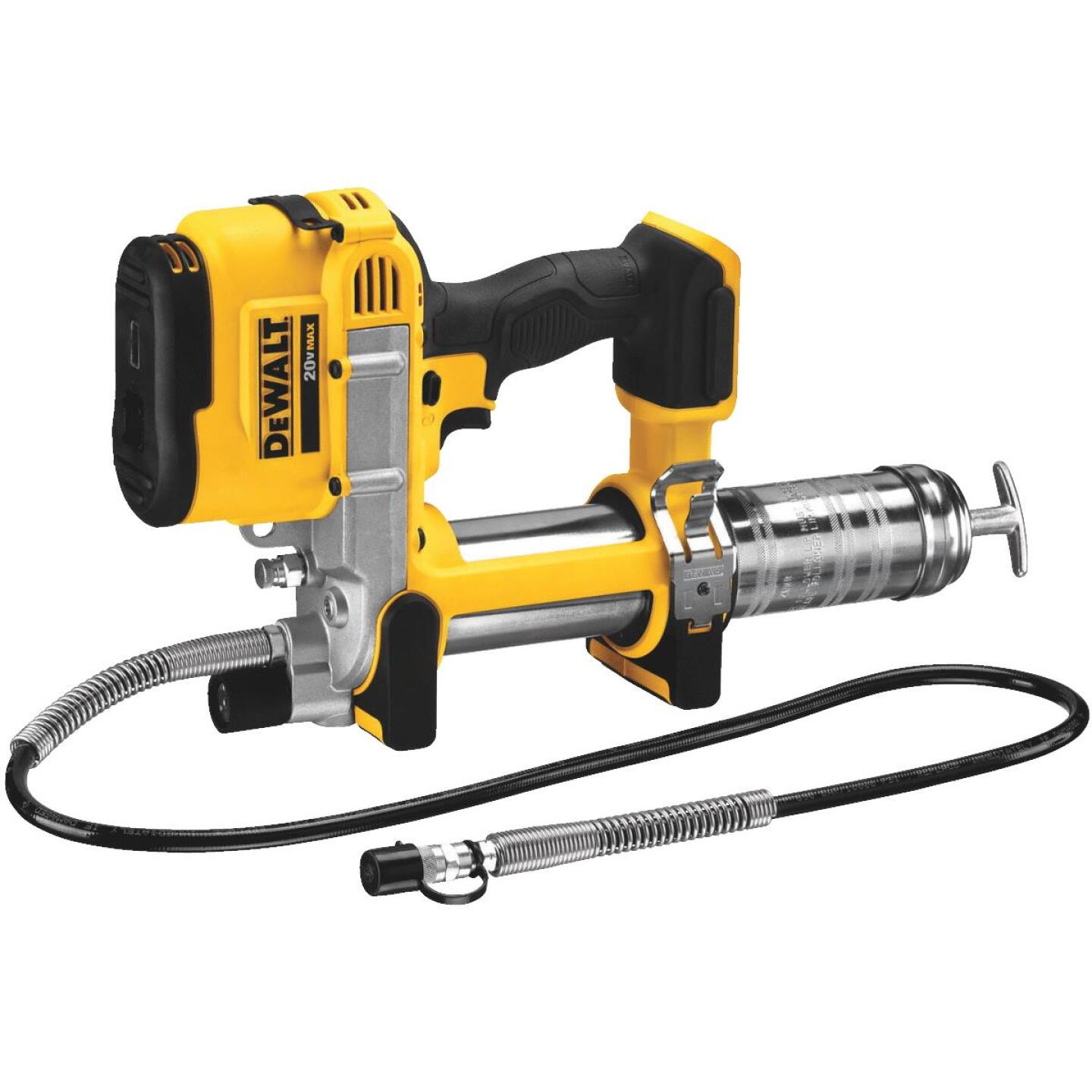 DeWalt 20 Volt MAX Lithium-Ion Cordless Grease Gun (Bare Tool) Image 1