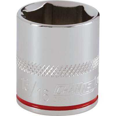 Channellock 3/8 In. Drive 13/16 In. 6-Point Shallow Standard Socket