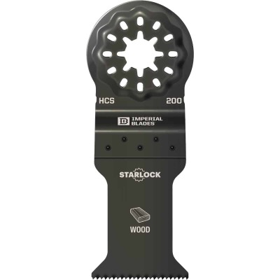 Imperial Blades Starlock 1-3/8 In. 18 TPI Fast Wood Oscillating Blade