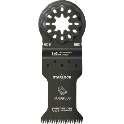 Imperial Blades Starlock 1-3/8 In. 14 TPI Precision Wood Oscillating Blade