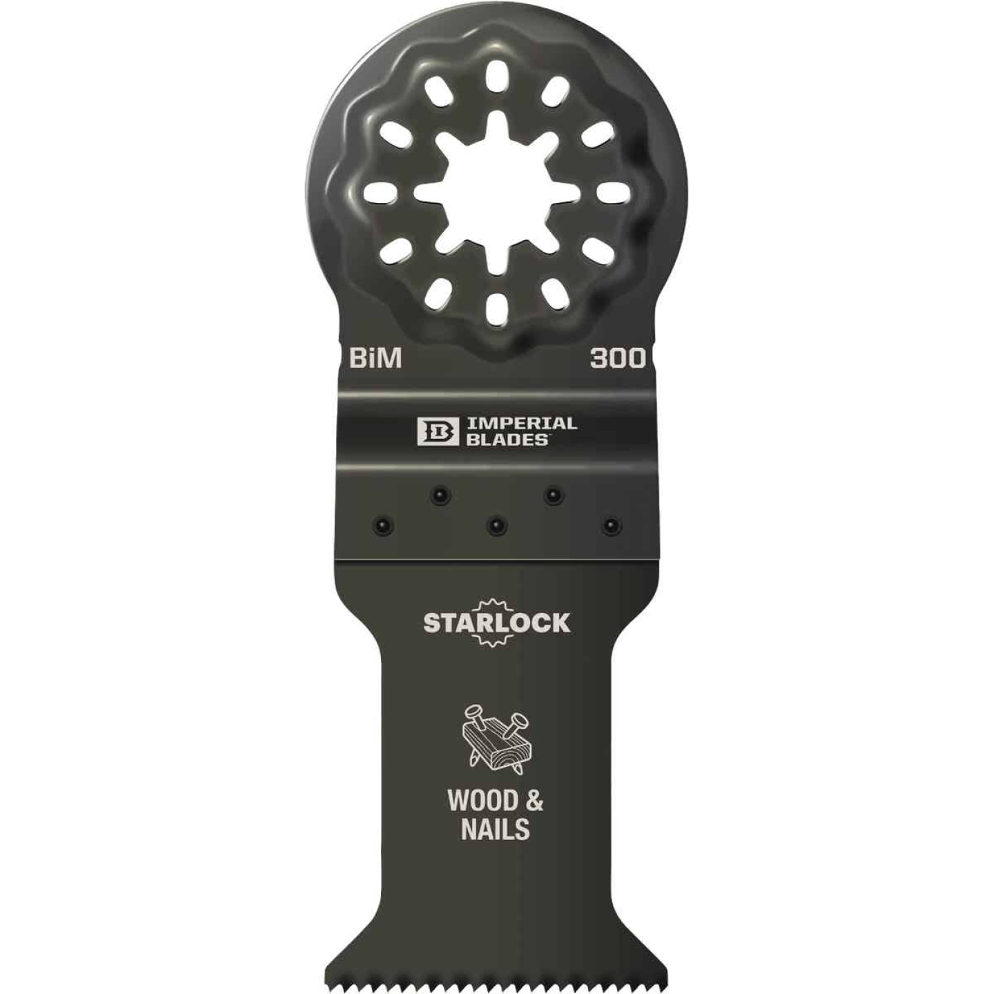 Imperial Blades Starlock 1-3/8 In. 18 TPI Wood/Nail Oscillating Blade Image 1