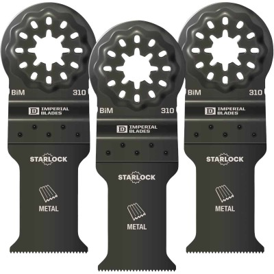 Imperial Blades Starlock 1-1/5 In. 21 TPI Metal Oscillating Blade (3-Pack)