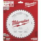 Milwaukee 7-1/4 In. 40-Tooth Fine Finish Circular Saw Blade Image 2