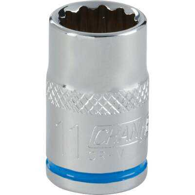 Channellock 3/8 In. Drive 11 mm 12-Point Shallow Metric Socket