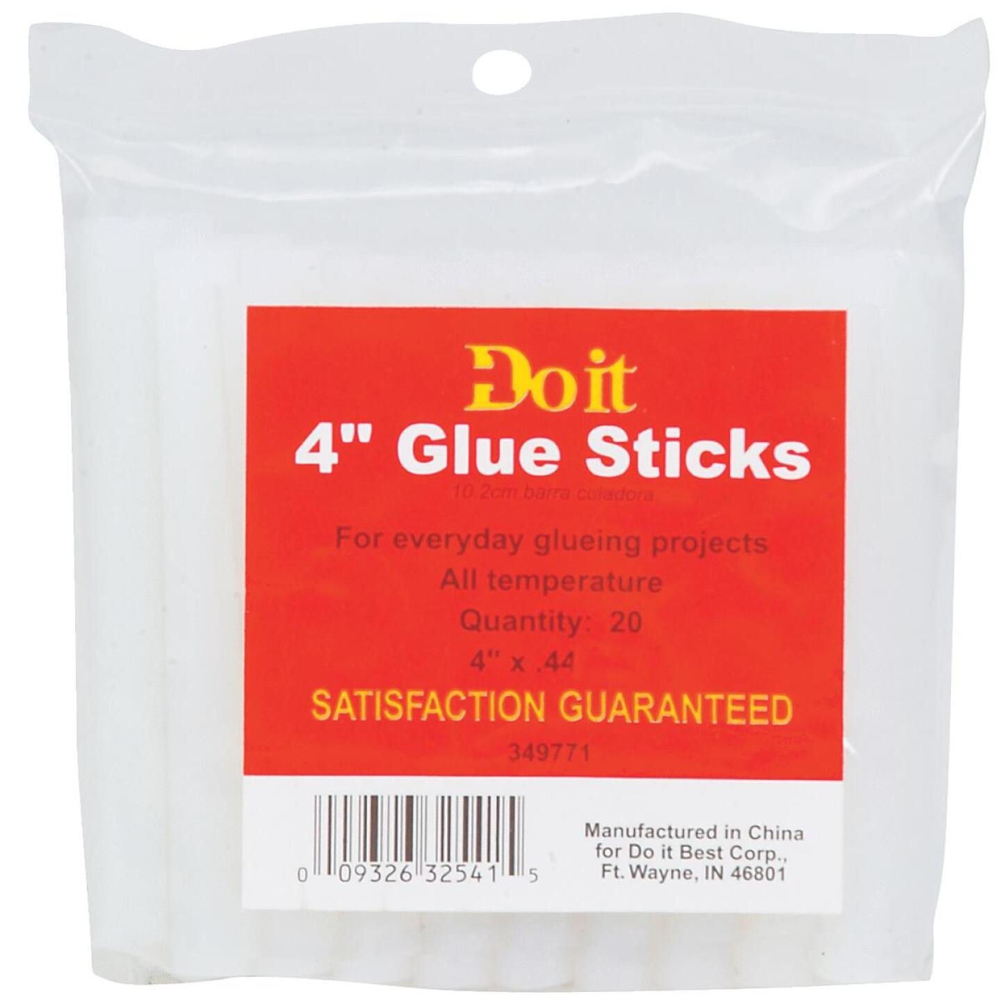 Do it 4 In. Standard Clear Hot Melt Glue (20-Pack) Image 1