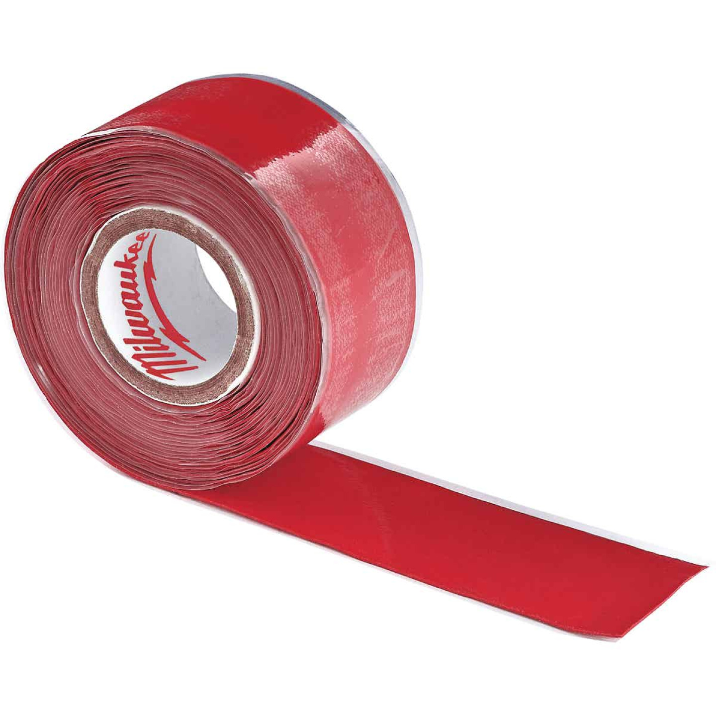 Milwaukee 2-1/2 In. W x 12 Ft. L Self-Adhering Lanyard Tape Image 1