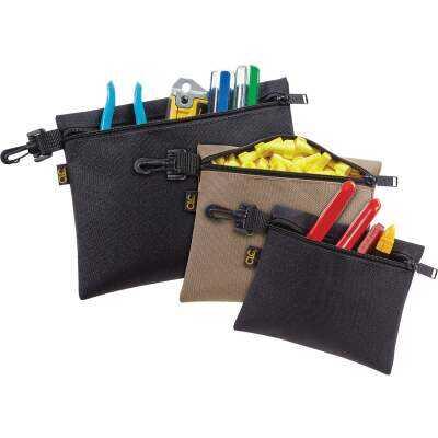 CLC Single-Pocket Multipurpose Zippered Tool Pouch (3-Set)