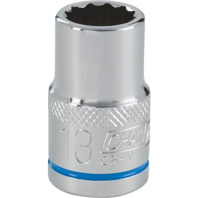 Channellock 1/2 In. Drive 13 mm 12-Point Shallow Metric Socket
