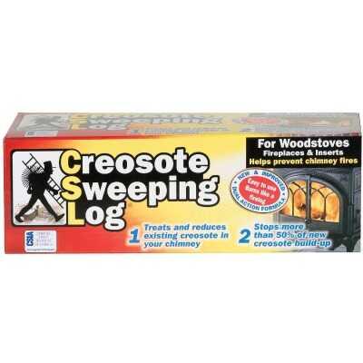 Creosote Sweeping Log 3 Lb. Log Creosote Remover