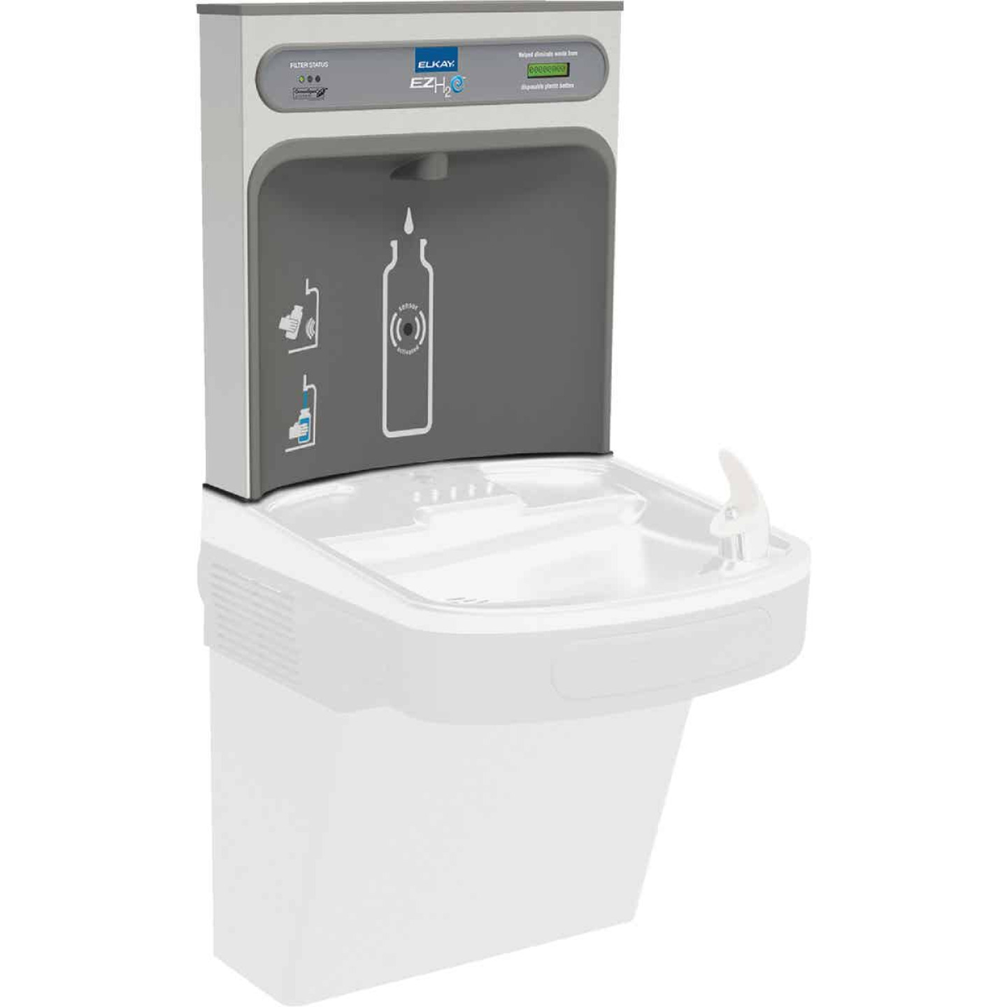 Elkay EZH2O Commercial 1.5 GPM Indoor Bottle Filling Station Image 1