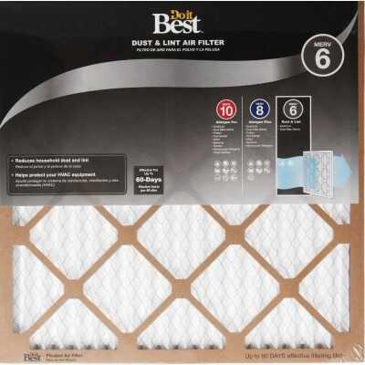 Do it Best 14 In. x 14 In. x 1 In. Dust & Lint MERV 6 Furnace Filter