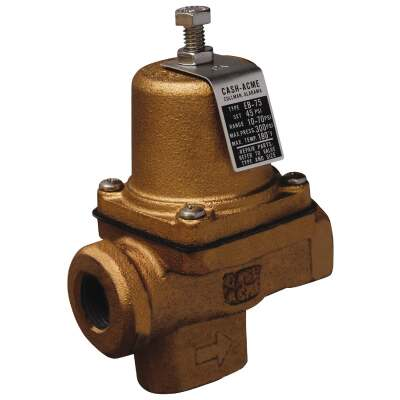 Cash Acme 3/4 In. Iron Pressure Regulator