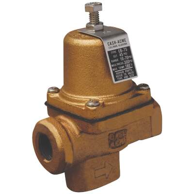 Cash Acme 1/2 In. Iron Pressure Regulator