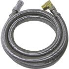 B&K SureDry 3/8 In. x 3/8 In. x 60 In. Stainless Steel Dishwasher Connector Image 1