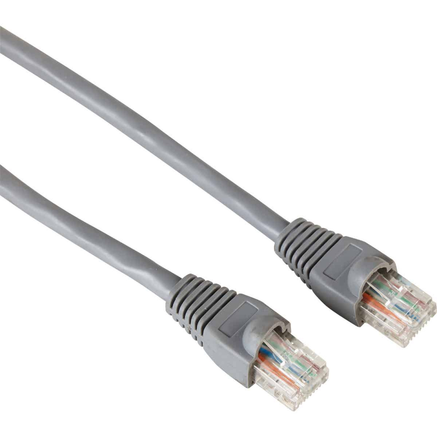 RCA 3 Ft. CAT-6 Gray Network Cable Image 1