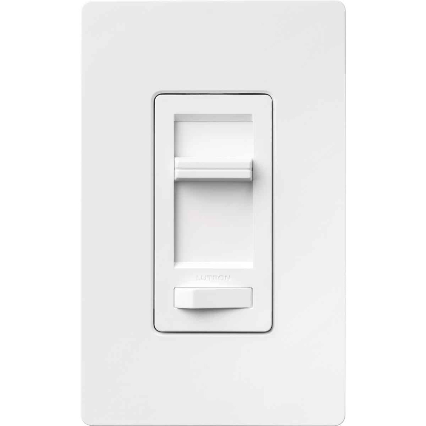 Lutron Lumea Incandescent/Halogen/LED/CFL White Slide Dimmer Switch Image 9