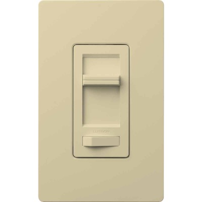 Lutron Lumea Incandescent/Halogen/LED/CFL Ivory Slide Dimmer Switch