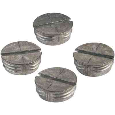 Bell 1/2 In. Weatherproof Gray Closure Plug (4-Pack)