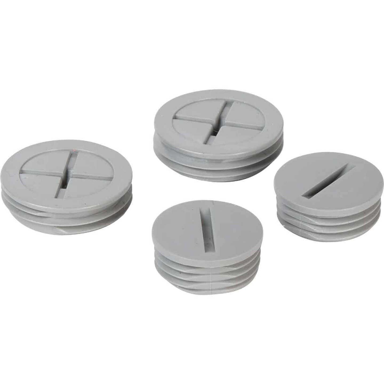 TayMac 1/2 In, 3/4 In. Weatherproof Gray Outdoor Closure Plug (4-Pack) Image 3