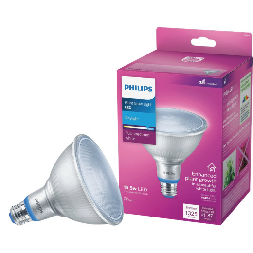 Philips 120W Equivalent Daylight PAR38 Medium LED Plant Floodlight Light Bulb