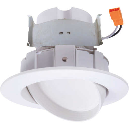 Halo 4 in. Retrofit IC Rated White LED Selectable Color Temperature Recessed Light Kit