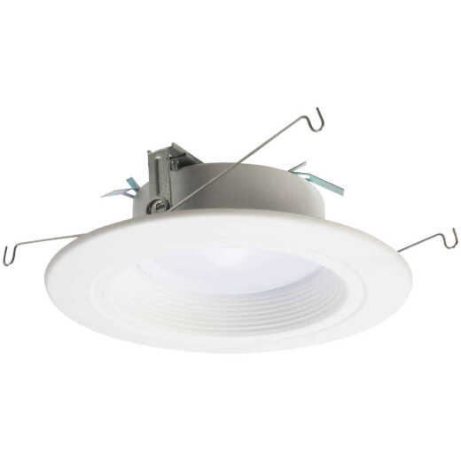 Halo 4 In. Retrofit Baffle Selectable Color Temperature LED Recessed Light Kit, 600 Lm.