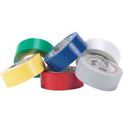 Do it General Purpose 3/4 In. x 20 Ft. Assorted Color Electrical Tape, (6-Pack)