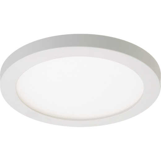 Halo 4 In. Round Retrofit IC/Non-IC Rated White Flush Mount LED Recessed Light Kit, California Rated
