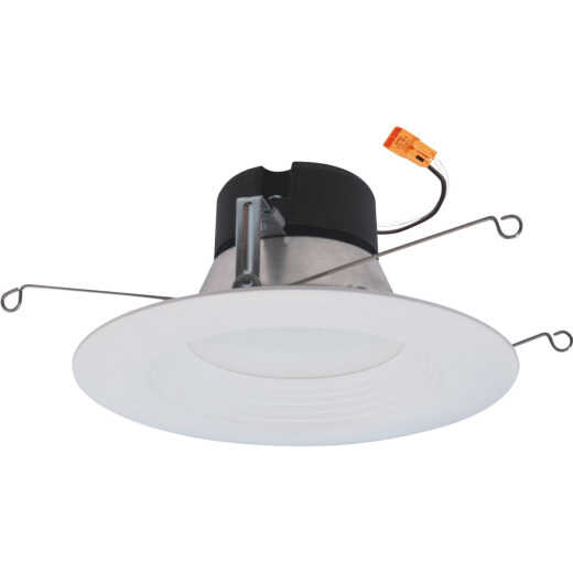 Halo 5 In./6 In. Retrofit IC/Non-IC Rated White Selectable CCT LED Recessed Light Kit