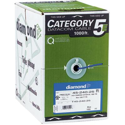 Coleman Cable 1000 Ft. 24 AWG Voice & Data Multi-Line Wire