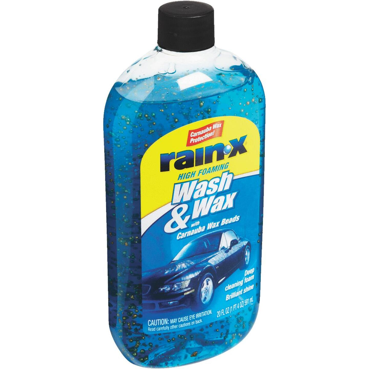 RAIN-X 20 Oz. Liquid High Foaming Car Wash & Wax w/Carnauba Wax Image 3