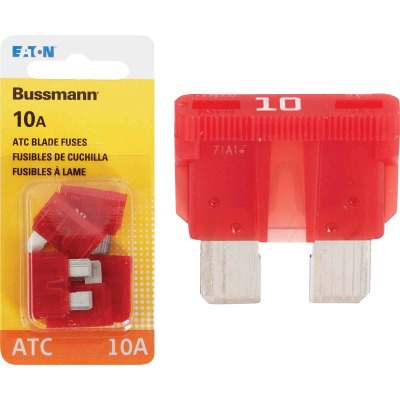 Bussmann 10-Amp 32-Volt ATC Blade Automotive Fuse (4-Pack)